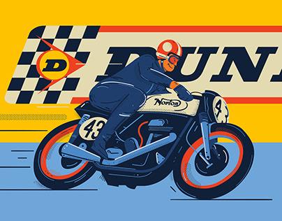 Norton Bikes / Dunlop