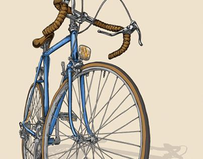 Bicycle Illustration Trilogy