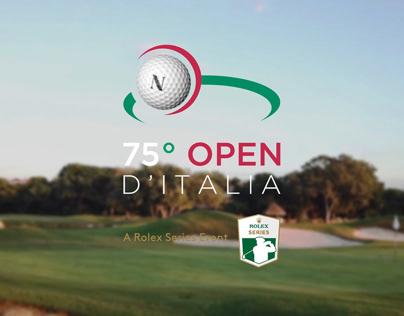 75°Open d'Italia - Save the date
