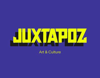 Online magazine Juxtapoz — Redesign concept