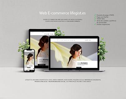 Web E-commerce - Lifegist Fashion