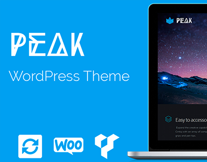 Peak WordPress Theme - Banner
