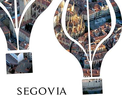 Carteles turismo para Segovia