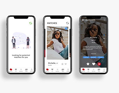 Concept Dating App