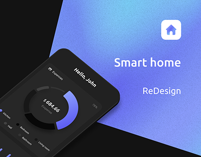 Smart Home Redesign   App UX/UI