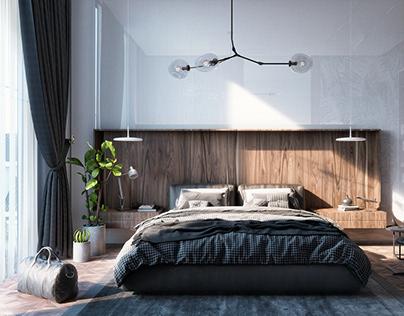 White Bedroom Project 309 HDRI