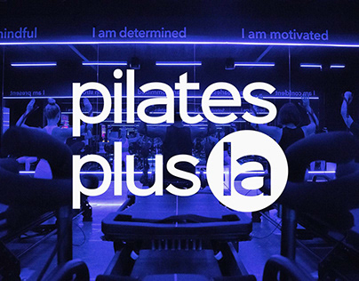 Pilates Plus LA   Brand Identity & Web Design