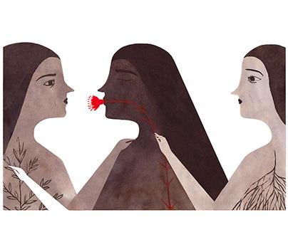 Fear & acceptance - P. Kahlo