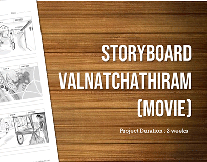 Storyboard for upcoming feature film Valnatchathiram