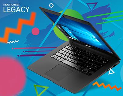 Key Art | Landing Page | POS Material - Laptop Legacy