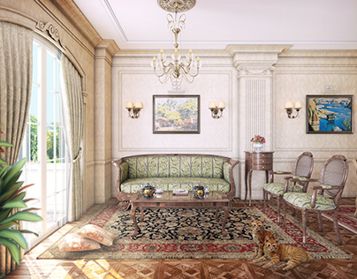 Classic Salon Interior