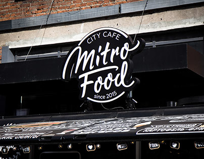 Logo for Mitro Food cafe