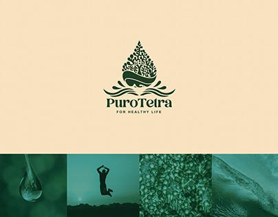 Purotetra Beverage Minimalist Logo