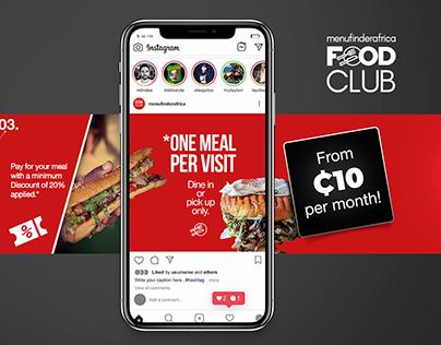 Instagram Carousel   Menu Finder Food Club