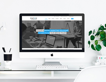 Finessse Branding & UI/ UX