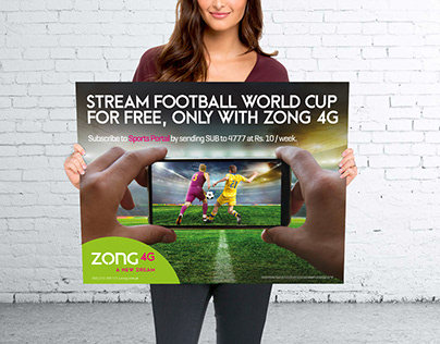 ZONG-FIFA Live Streaming