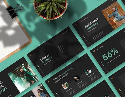 PowerPoint Design Mockup Two