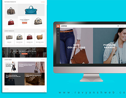 eCommerce website designer