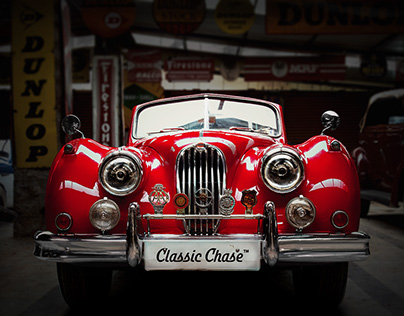 Classic Chase - Classic Cars & Bikes Merchandise