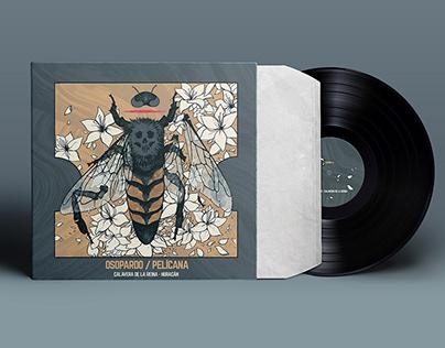 ALBUM COVER DESIGN FOR BESTIA PARDA RECORDS