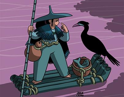 Cormorant Fisher