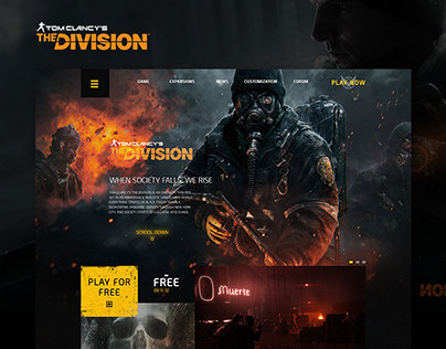 Tom Clancy's The Division Website