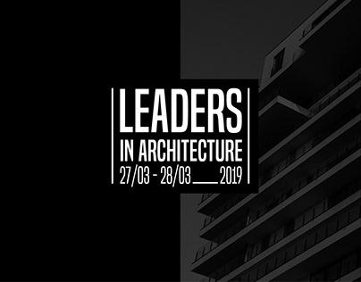 Leaders in Architecture. Corporate Identity.