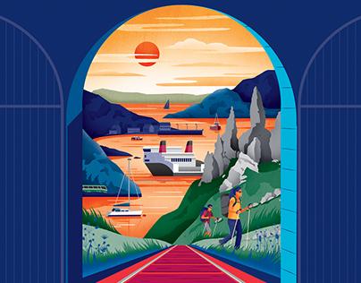 Scotrail Tourism Campaign