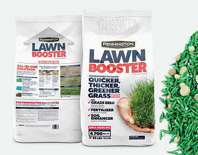 Pennington Lawn Booster Packaging