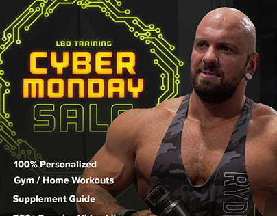 LBD Training Black Friday / Cyber Monday 2020