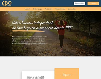 CDO Insurance brokerage - Internship project
