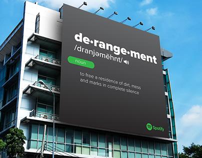 Spotify Definition Headline Campaign