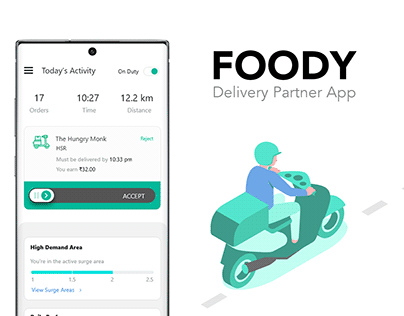 Foody - Delivery Partner App