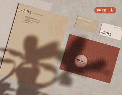 [FREE] Branding & Stationery Mockup