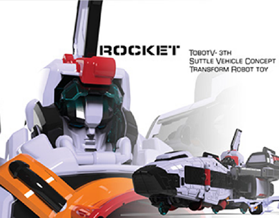 TobotV-Rocket Transform Robot toy