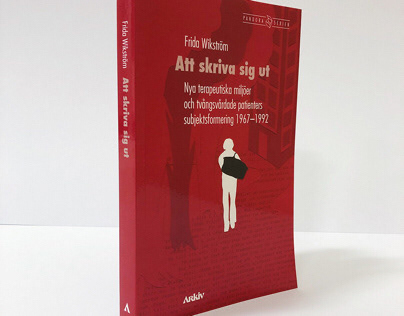 Att skriva sig ut – Book cover – Arkiv