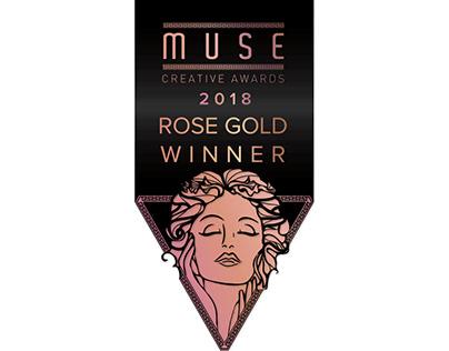 MUSE CREATIVE AWARDS 2018 - ROSE GOLD