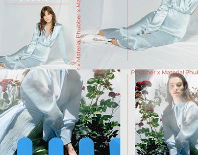 Phubber X Materiel Campaign design