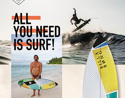 BILLABONG SURFBOARDS