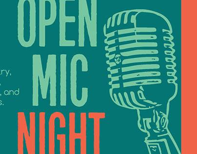 Stevenson Open Mic Night