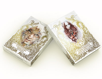 Ink and Tea Playing Cards - Collector's Deck