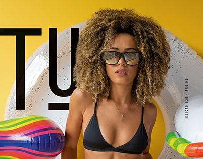 Beatriz Souza - Revista TU 026
