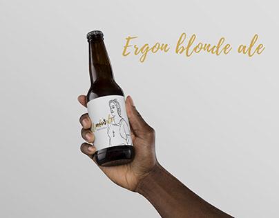 Ergon Beer - Label Design (rejected)