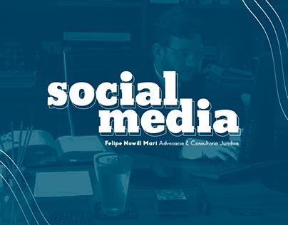 Social Media - Felipe Nowill Mari Advocacia.