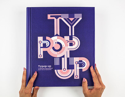 TYPOP-UP / Basic rules of typography / pop-up book