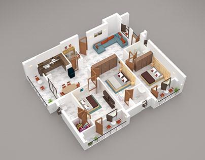 Floor Plan & Elevation