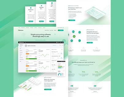 Intuit QuickBooks Concept