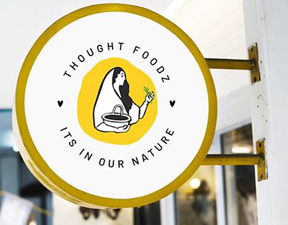 Brand Identity for Thought Foodz