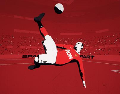 Wayne Rooney Bicycle Kick