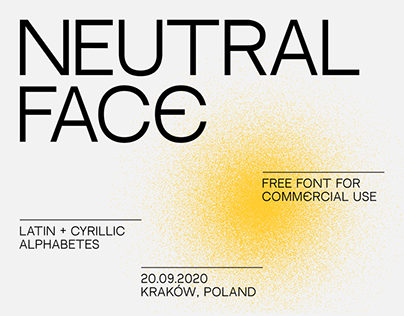 NEUTRAL FACE — FREE FONT